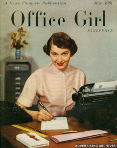 office girl